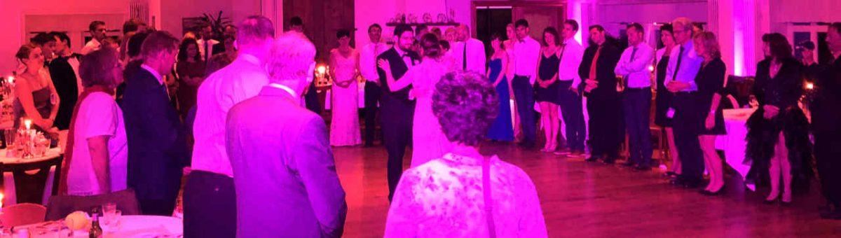 Hochzeitslieder zum Ehrentanz mit DJ