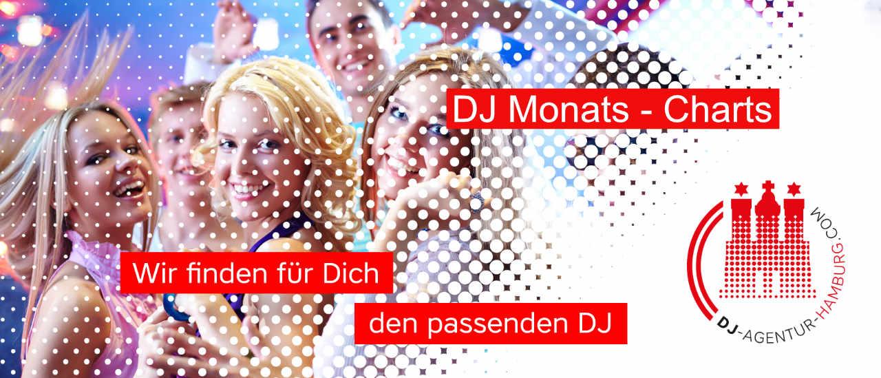 Monats - Charts der DJ Agentur Hamburg